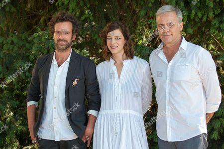 Celine Sallette, Romain Duris and Emmanuel Courcol