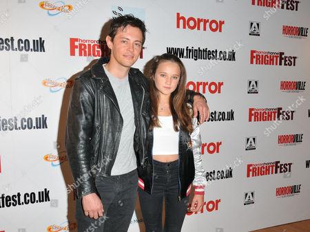 Stock Picture of Elliot James Langridge and Isabelle Allen