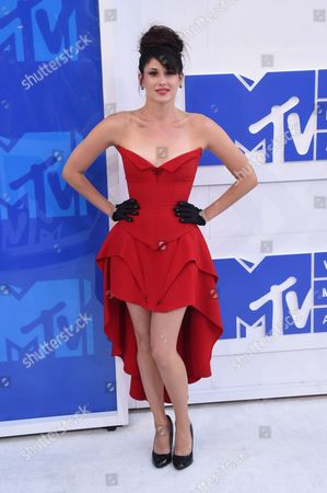 Editorial image of 2016 MTV Video Music Awards, Arrivals, Madison Square Garden, New York, USA - 28 Aug 2016