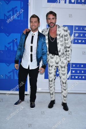 Lance Bass and Robert Sepulveda Jr