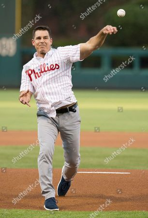 Billy Bean MLB Vice President of Social Responsibility & Inclusion Billy Bean throws out the first pitch prior to the first inning of a baseball game between the Philadelphia Phillies and the Washington Nationals, in Philadelphia