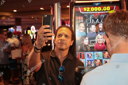 Editorial image of Official Launch Party for IGT's TMZ Video Slots, Hard Rock Hotel and Casino, Las Vegas, Nevada, USA - 28 Aug 2016