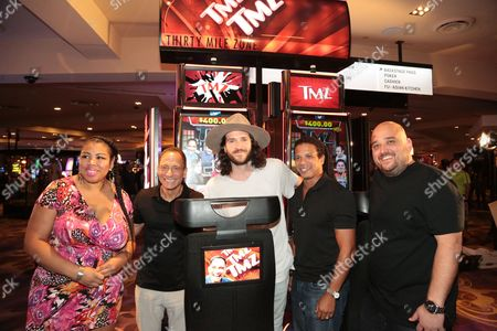 Editorial photo of Official Launch Party for IGT's TMZ Video Slots, Hard Rock Hotel and Casino, Las Vegas, Nevada, USA - 28 Aug 2016