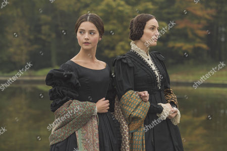 Jenna Coleman as Victoria and Daniela Holtz as Baroness Lehzan.