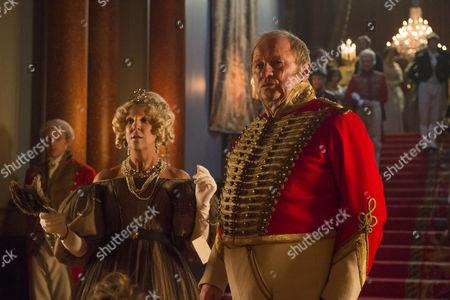 Stock Picture of Nichola McAuliffe (Duchess of Cumberland) and Peter Firth (Duke of Cumberland)