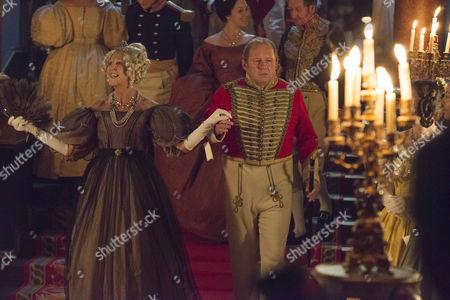 Nichola McAuliffe (Duchess of Cumberland) and Peter Firth as Duke of Cumberland