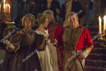 Stock Photo of Nichola McAuliffe as Duchess Of Cumberland and Peter Firth as Duke Of Cumberland.