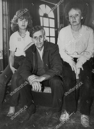 Editorial photo of Charles Barnes And Daughters Gail (l) And Tracy. His Wife Margerite Barnes Was Killed By Their Neighbour Black South African Dee Nayer After A Campaign Of Racial Taunts. Box 700 328071646 A.jpg.
