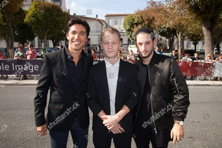 Antoine Olivier Pilon, Yan England and Lou-Pascal Tremblay
