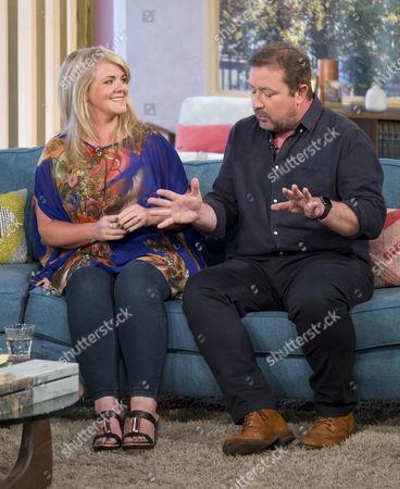 Sally Lindsay and Daniel Ryan