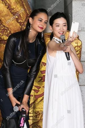 Courtney Eaton and Mei Nagano