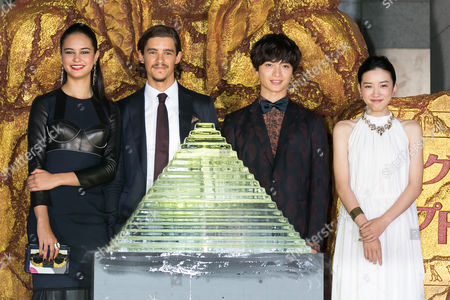 Editorial picture of 'Gods of Egypt' film premiere, Tokyo, Japan - 30 Aug 2016