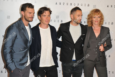 Jamie Dornan, Cillian Murphy, Sean Ellis and Anna Geislerova