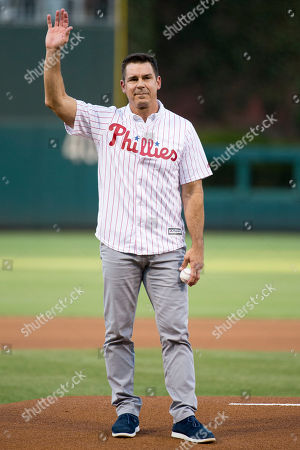 Billy Bean MLB Vice President of Social Responsibility & Inclusion Billy Bean throws out the first pitch prior to the first inning of a baseball game between the Philadelphia Phillies and the Washington Nationals, in Philadelphia. The Nationals won 4-0