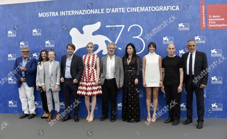 Editorial picture of Jury Photocall, 73rd Venice Film Festival, Italy - 31 Aug 2016