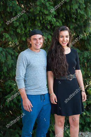 Zacharie Chasseriaud and Lina El Arabi
