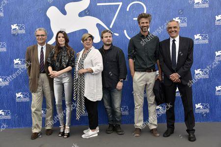 Kim Rossi Stuart, Rosa Bosch, Brady Corbet, Pilar Lopez de Ayala, Serge Toubiana, Alberto Barbera