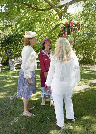 Queen Silvia, Marianne von Der Esch, Bitte Johansson,