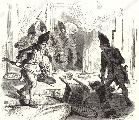 why the british troops were sent into British troops sent to boston to enforce the duties only added to the tensions ill will between civilians and british troops led to an incident on march 5, 1770, where british troops fired on an unruly mob, killing five people.
