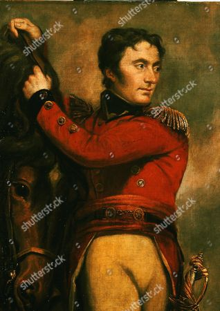 Sir John MOORE, 1761-1809, Scottish general, at battle of Alexandria 21st February 1801 by James Northcote