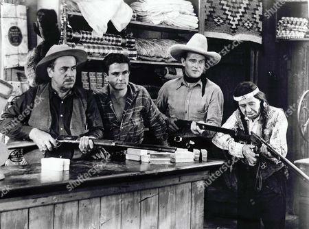 Noah Beery Sr, Noah Beery Jr, John Wayne