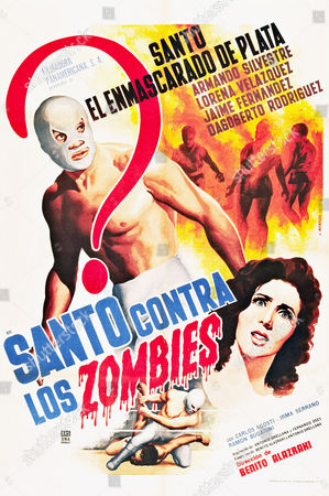 Editorial photo of Santo Contra Los Zombies - 1962