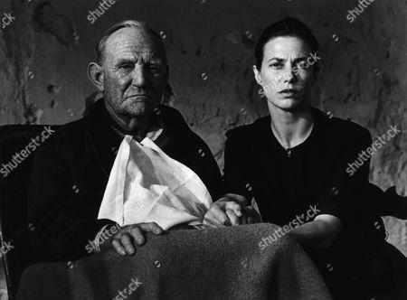 Stock Photo of Trevor Howard, Jane Birkin