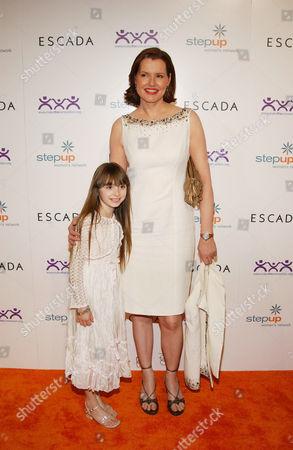 Jasmine Jessica Anthony and Geena Davis
