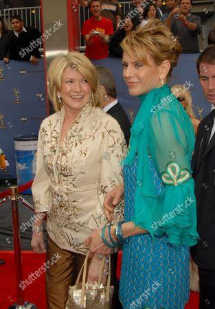 Alexis Stewart and Martha Stewart