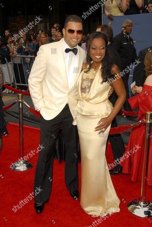 Stock Picture of Al Reynolds and Star Jones-Reynolds