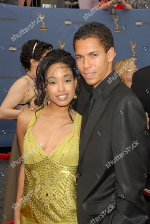 Stock Image of Davetta Sherwood and Bryton McClure