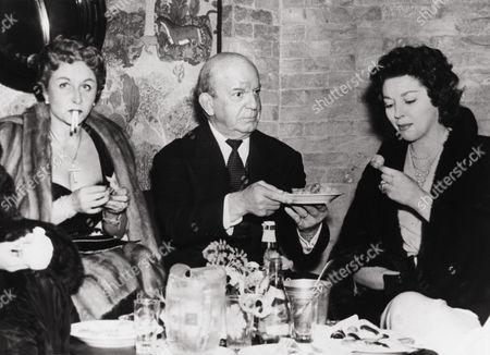 Vera Hruba Ralston, Herbert J. Yates, Anne Vernon