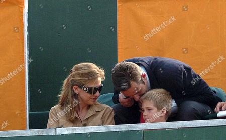 Princess Cristina, Inaki Urdangarin and Prince Juan Valentin