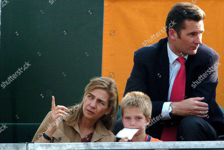 Princess Cristina, Prince Juan Valentin and Inaki Urdangarin