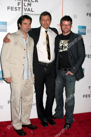Chris Bradley, Jeff Goldblum and Kyle LaBrache