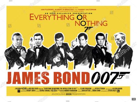 Sean Connery, George Lazenby, Roger Moore, Timothy Dalton, Pierce Brosnan, Daniel Craig
