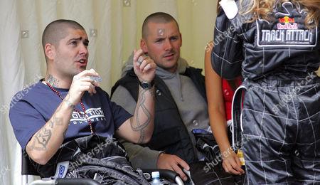 Shane Lynch and Graham Quinn