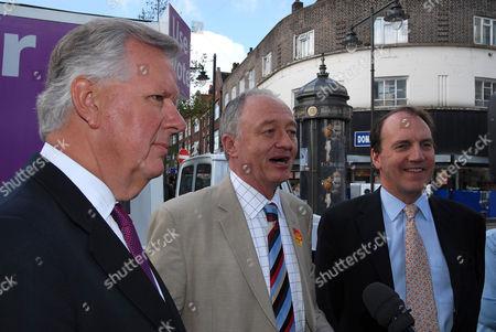 Steven Norris, Ken Livingstone and Simon Hughes