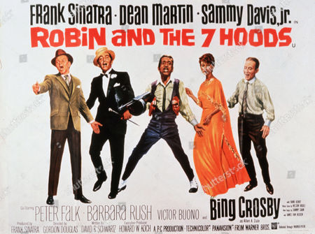 Frank Sinatra, Dean Martin, Sammy Davis Jr, Barbara Rush, Bing Crosby
