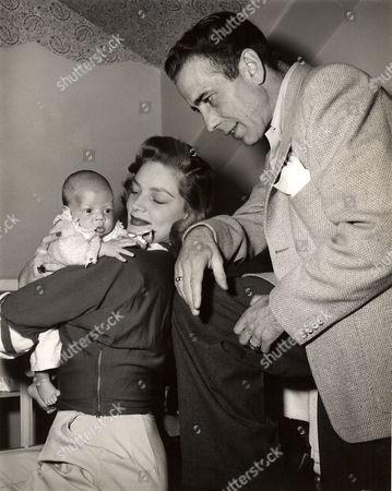 Stephen Bogart, Lauren Bacall, Humphrey Bogart
