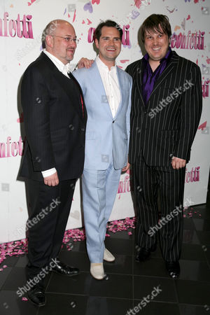 Vincent Franklin, Jimmy Carr and Marc Wootton