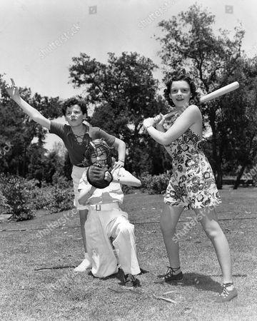 Freddie Bartholomew, Cora Sue Collins, Judy Garland