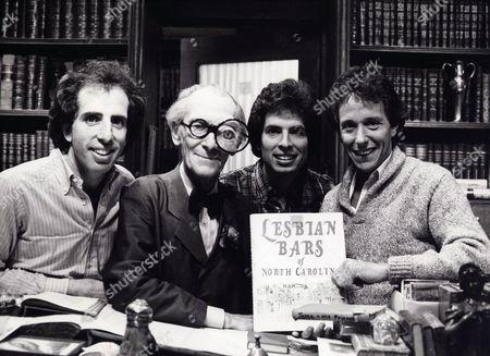 Jerry Zucker, Peter Cushing, David Zucker, Jim Abrahams