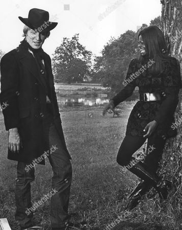 Stock Image of Michael Sarne, Glenna Forster-Jones