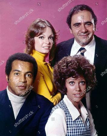 Lloyd Haynes, Karen Valentine, Denise Nicholas, Michael Constantine