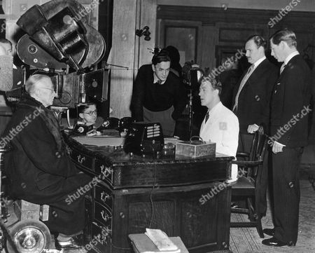Stock Picture of Alexander Mackendrick, Ernest Thesiger, Guinness Alec, Howard Marion-Crawford, Michael Gough