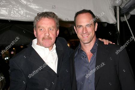 Michael Colgan with Christopher Meloni