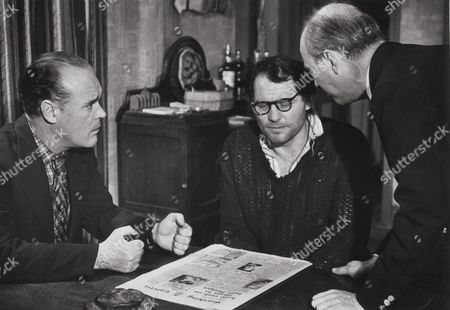 Stock Picture of Patrick Magee, Robert Shaw, Sydney Tafler