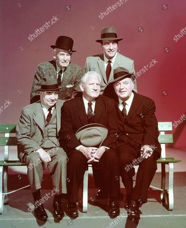 Edward Brophy, James Gleason, Spencer Tracy, Ricardo Cortez, Pat O'Brien