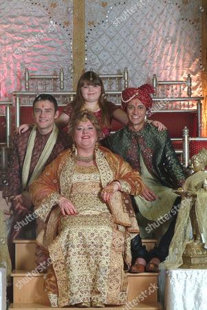 Peter Ash, Sally Bankes, Katy Clayton, Chris Bisson